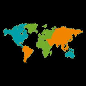 mapa mundi transparente